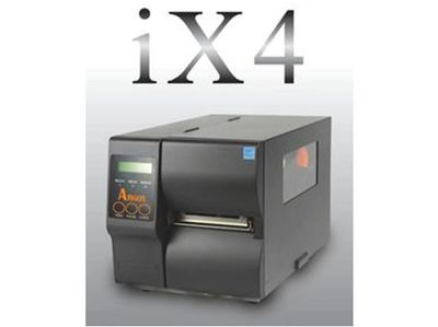 Argox IX4 series, industrial grade printer, expiry date, barcode, batch no., 300M ribbon capacity