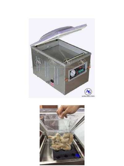Table Top Vacuum Sealer, packing small size items, foods, money, financial documents, vouchers & etc