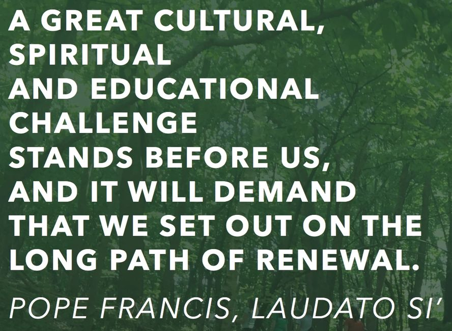 Nature Catholic, Laudato Si Project, Stewardship, Catholic Ecology Center