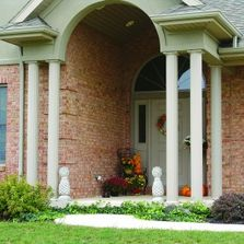We're the name to trust in the St. Louis area for entry doors, awnings, windows, columns and siding.
