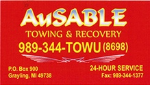 AUSABLE TOWING AND RECOVERY