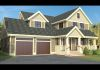 New 2,766 sq ft farm house style home in Needham, MA