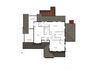 Second floor plan for new 2,766 sq ft farm house style home in Needham, MA