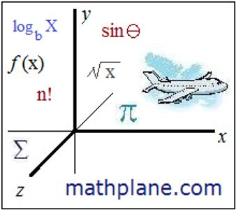 mathplane emblem for link to math resources, content, and comics.