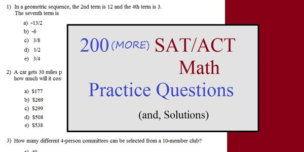 Mathplane Express Math Test Prep Act Sat Practice Test Mathplane Express Take more free act math tests available from crackact.com. math test prep act sat practice test