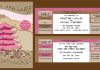 Wedding Web Page and Invitation - Vector Drawing