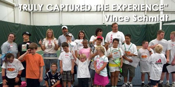 tennis clinic down syndrome, impact, video production