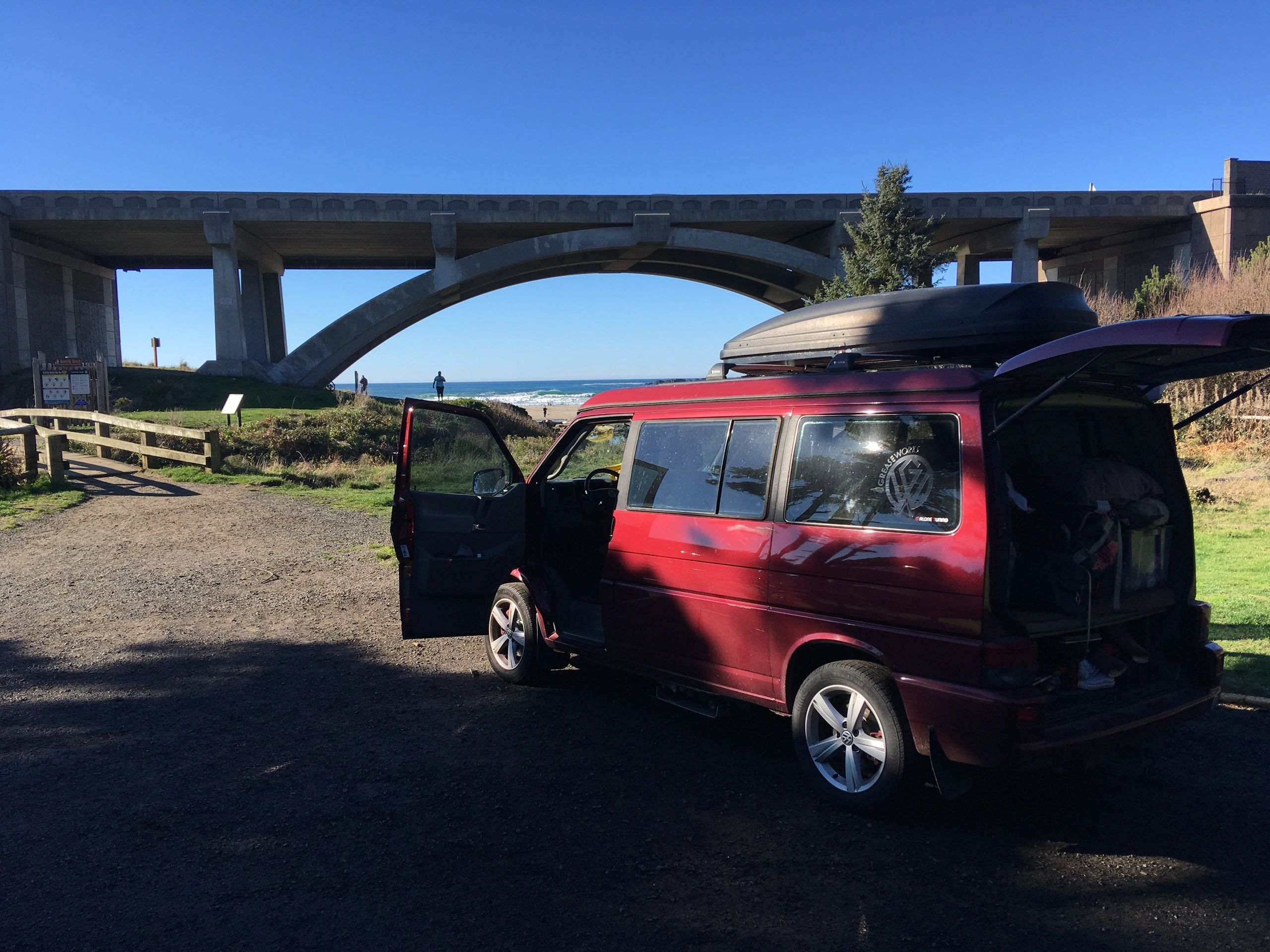 2000 Eurovan T4 weekender with 1.9l AHU TDI and 5-spd Syncro trans. Beverly Beach, Oregon