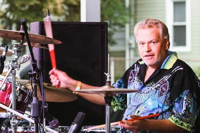 Billy Foster on the drums