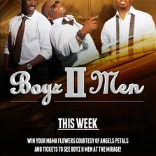 Boyz II Men las vegas show tickets 2018