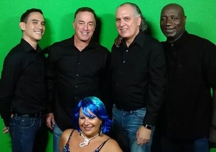"Putting the ""fun"" in Funk! Lauribeth's Alter Ego ""Gia Gioioso"" with her band ""The Greyhounds""!"