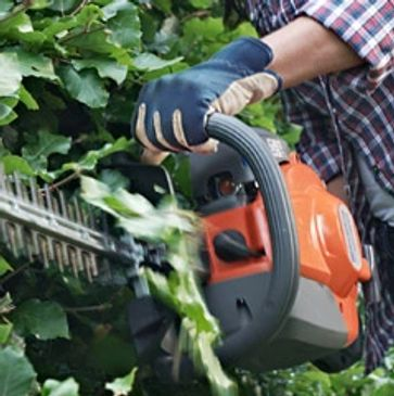 garden machinery maintenance