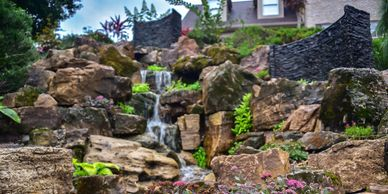 pondless waterfall Pittsburgh pa award winning project