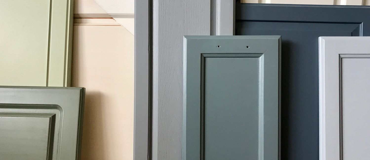 We paint cabinets and their doors and drawers, or paint and glaze cabinets, Painted cabinets can be