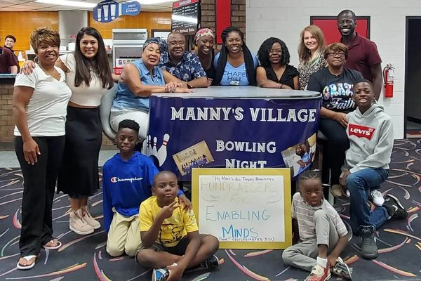 Manny's Village Friends and Family hosting a bowling night fundraiser for special needs children.