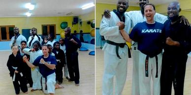 Sensei Thomas stopped by the local dojo while on his trip to Turks and Caicos.
