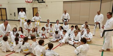 Sensei Ron Mattie Clinic - Dynamic Karate Calgary