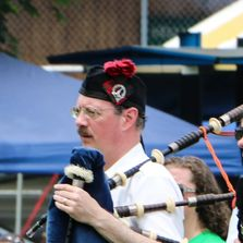 Pipe Major Paul Browning