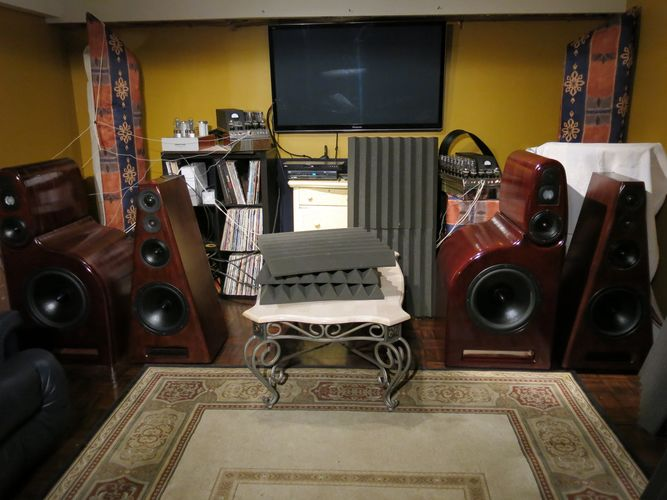 The listening room of a madman