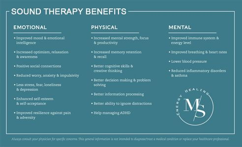 sound therapy benefits