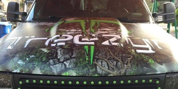 Custom Digital Graphics or Full Car Wraps greatly enhances your company's visibility! Get Noticed!