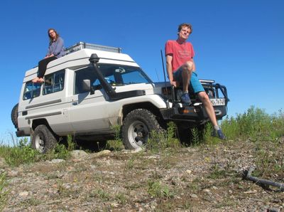 GHT Overland Podcast Hottahue Troopy