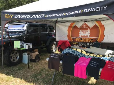 GHT Overland Podcast at the NW Overland Rally