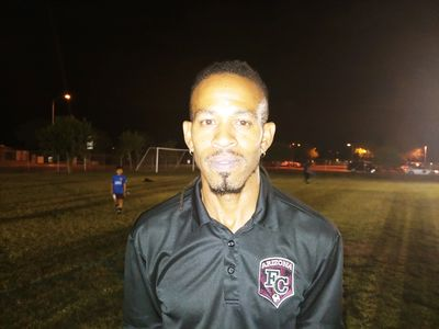 Arizona FC Girls Coaching Director Dante Johnson