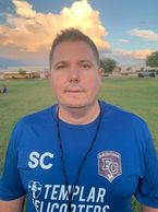 Arizona FC 2005 girls head coach Steve Clemens