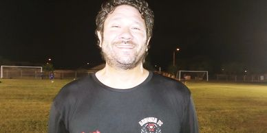Arizona Fc 2003 girls coach Brent Redwood