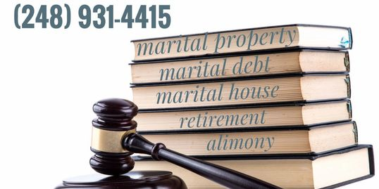 Uncontested Divorce Detroit (248) 931-4415 lawyer for amicable marital property division in divorce