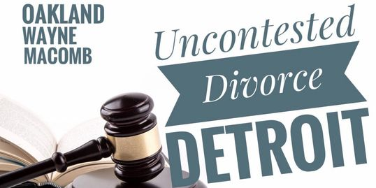 Uncontested Divorce Detroit (248) 931-4415 lawyer for quick divorce in Oakland County Wayne Macomb