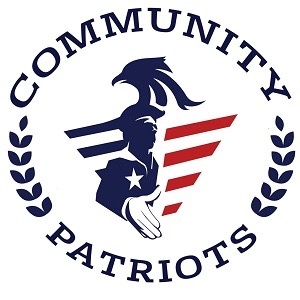 "Community Patriots  ""God, Country, Constitution & Community."""