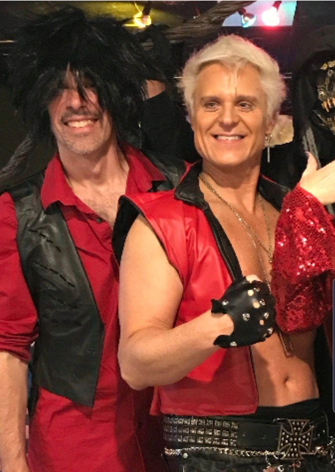 Billy Idol and Steve Stevens Tribute Band Steve Klee as Billy and Billy Bressette as Steve Stevens