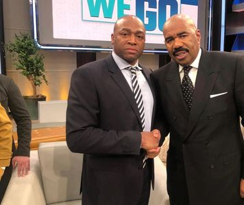 Keith L. Craig and Steve Harvey