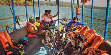 Mumbai to goa cycling expedition, multiday bikepacking adventure tours, cycling tours, India