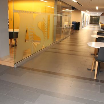 Arizona State University Memorial Union tile work by Artcraft Granite, Marble and Tile Company