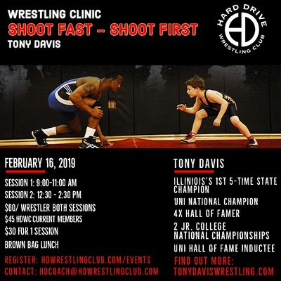 Tony Davis clinic- Hard Drive Performance Center- Cedar Rapids, IA
