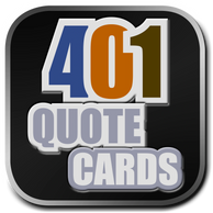 Search the 401 Quote Card Series by category.  Created by David Hooper & produced by Genpopmedia.