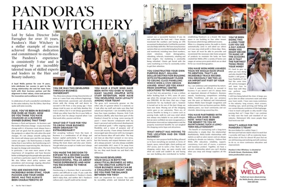 HAIRBIZ AUSTRALIA FEATURE BEST HAIRDRESSING SALON