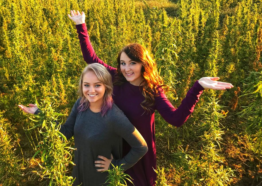 Taylor and Gloria from Hometown Hemp in London, KY.