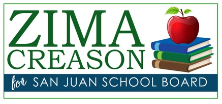 Zima Creason for San Juan School Board 2018