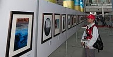 A Photograph of David Monroe' Fine art image hanging in China