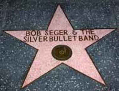 Bob Seger  rock icon Hollywood Walk of Fame