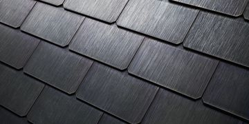 Tesla Textured Finish Glass Solar Roof Tiles