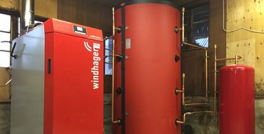 Windhager biomass boiler service