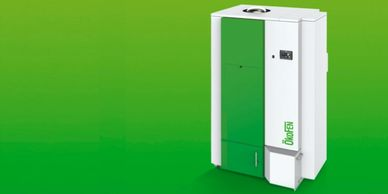 OkoFEN ÖkoFEN Pellematic e-MAX CHP Combined Heat and Power Biomass Wood Pellet Boiler