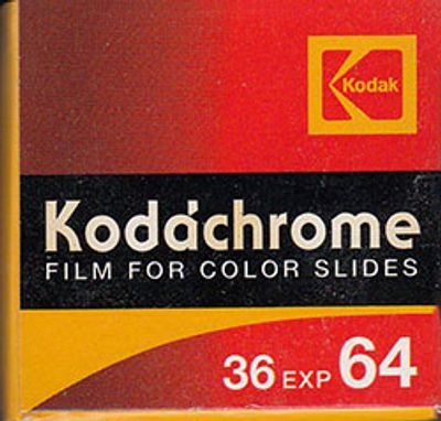Kodachrome 35MM Slides to DVD