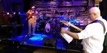 Drummer's Night Out, concert, Jazz, gospel, Calvin Rodgers, Will Kennedy, Tangled String Studios