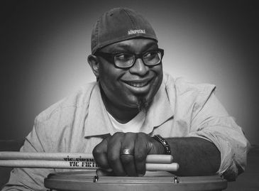Marcus Pope, owner and instructor, Pope's School of Percussion